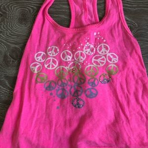 Flowers by Zoe Shirts & Tops - Peace and love tank